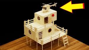 popsicle stick house plans elegant how to make a popsicle stick house for hamster house diy