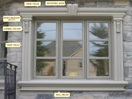 Exterior Window Moulding Designs