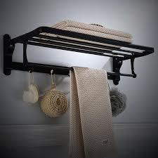 towel racks folding alumimum wall
