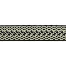 Decorative Fabric Trim 1 1 2 Woven Home Decor Geometric Trim Black Discount Designer