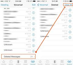 Four Ways To Clear Your Voicemail In Ios 7 Ios Tips Cult Of Mac