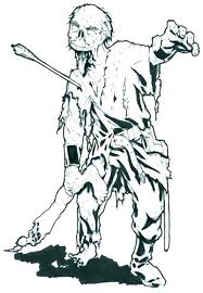 Pictures Of Zombies To Color All Zombie Coloring Page Pages Disney