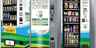 Healthy Choice Vending Machines Custom HighTech Vending Machines That Serve Healthy Snacks See Rapid Growth