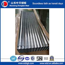 types of roofing sheet with sni certificate galvanized corrugated iron roofing sheet z40g