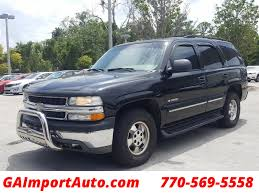 2001 Used Chevrolet Tahoe at Georgia Import Auto Serving ...
