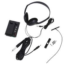 Violin Part EQ <b>Piezo Pickup</b> W/ Headphone <b>Cable Plug Wire</b> for ...