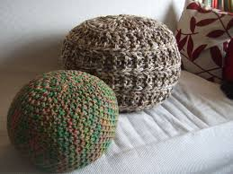 Knitted Pouf Pattern Interesting Inspiration Design