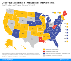Does Your State Have A Throwback Or Throwout Rule Tax