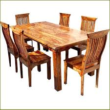 wooden table set solid wood dining set fancy real wood dining table with dining room top