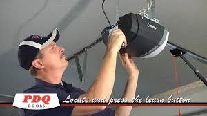 How to Program a Linear and Liftmaster Garage Door Opener. PDQ Doors ...
