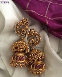 Gold Jhumka Designs For Bridal 21 Best Wedding Earring Designs For Brides