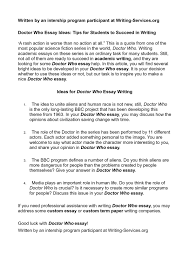 calam atilde copy o doctor who essay ideas tips for students to succeed in calamatildecopyo doctor who essay ideas tips for students to succeed in writing