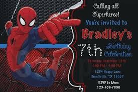 Spiderman Birthday Invitation Templates Free Beautiful Free Editable Spiderman Birthday Invitation
