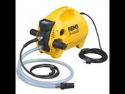 Pompa Electrica Verificare Presiune Instalatii Rems E Push 2 Cod 115500 Presiune 60 Bar