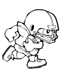 Small Picture Unique Football Player Coloring Pages Football Player Coloring