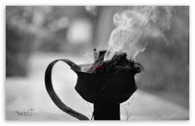 black white smoke ultra hd desktop