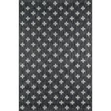 charcoal indoor outdoor area rug rugs 9 x 12