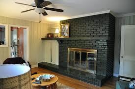 smlf gorgeous paint fireplace brick painted mantels