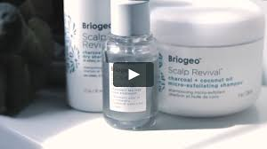 Briogeo Scalp Revival Collection With Erica Fae On Vimeo