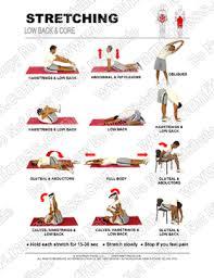 Free Printable Stretching Guides Ramfitness