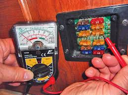 lost ground connections Travel Trailer Fuse Box Location with the negative probe grounded, a fuse should read 12 volts dc on both sides prowler travel trailer 1995 fuse box location