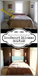 Headboard over Window