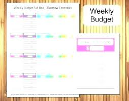 Free Bi Weekly Budget Template Simple Sullivangroup Co