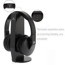 tv headphones wireless. artiste adh500 2.4g hifi stereo wireless tv headphone with digital output converter for pc tv headphones
