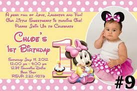 baby mickey mouse invitations birthday free baby first birthday invitation orderecigsjuice info