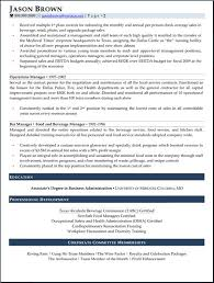 resume samples for hospitality and tourism  quality service general manager resume