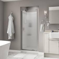 exploit delta frameless shower door silverton 33 in x 64 3 4 semi contemporary