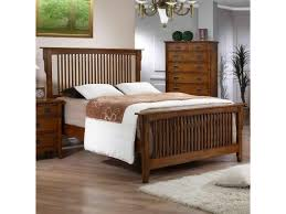 Mission Style Bedroom Furniture Elements International Trudy Mission Style Double Dresser