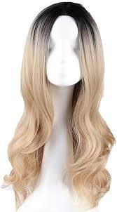 Women's Long Wig/Golden Curls, High Temperature ... - Amazon.com