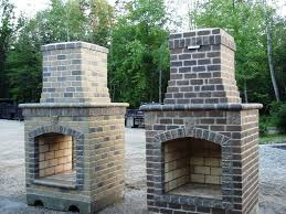 outdoor fireplace pizza oven combo with tv and sitting area fire place archadeck of charlotte menards outdoor fireplace ideas propane plans