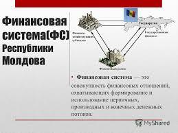 Презентация на тему Финансовая система ФС Республики Молдова  1 Финансовая система ФС