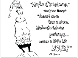 Grinch Coloring Pages Printable Footage My Cup Overflows Free