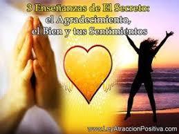 3 Enseñanzas De El Secreto El Agradecimiento El Bien Y Tus