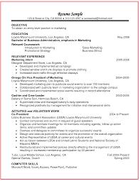 Relevant Coursework In Resume Example Http Www Jobresume
