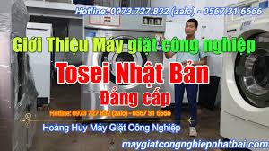 Cách chọn mua máy giặt công nghiệp Tosei 16kg, 18kg, 22kg, 30kg, 50kg cũ  nhật bãi - YouTube