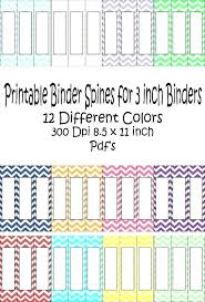 Labeling Binders 2 Inch Binders With Designs Binder Spine Template Awesome 1