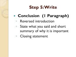 how to write a historical essay step understand the question  19 step 5 write conclusion 1 paragraph ◦ reversed introduction ◦ state what you said and short summary of why it is important ◦ closing statement