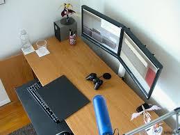 double monitor desk mount
