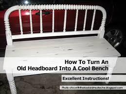 Headboard To Bench Headboard Benchjpg