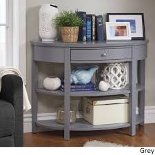 Fillmore Rounded 1-Drawer Console Table TV Stand by iNSPIRE Q Bold - Free  Shipping Today - Overstock.com - 23122445