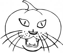 Small Picture Halloween Cat Coloring Pages Printables Fun for Halloween