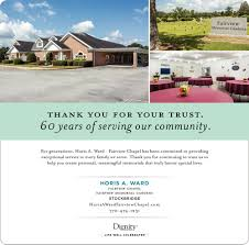 thankk you for your trust horis a ward funeral homes fairview memorial gardens stockbridge ga