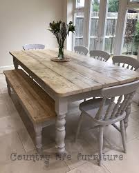 a beautiful neutral modern farmhouse dining room read the florence clear table made from reclaimed wood distressed wooden top