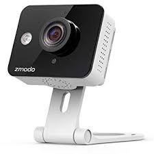 Zmodo ZM-SH75D001-WA <b>720p</b> HD Mini <b>WiFi Camera</b> with Two ...
