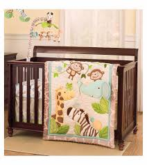 carters jungle play 4 piece crib bedding set with regard to new property carters crib bedding set prepare