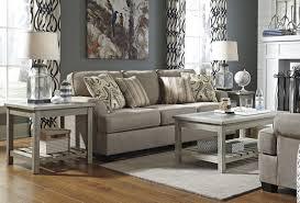Ashley Furniture Veldar Whitewash 3pc Coffee Table Set The Classy Home